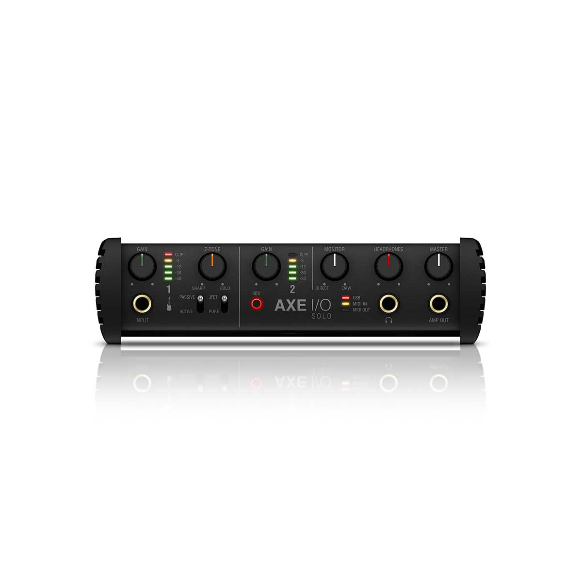 IK Multimedia AXE I/O SOLO USB Guitar Recording Interface