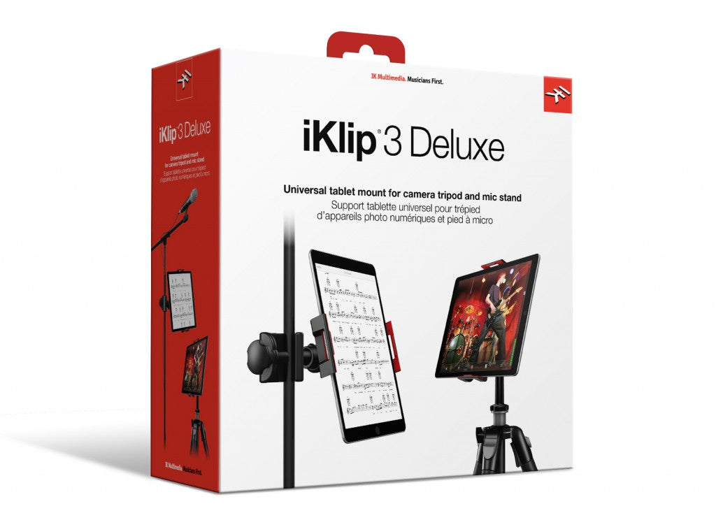 IK Multimedia iKlip 3 Deluxe Universal Tablet Mount