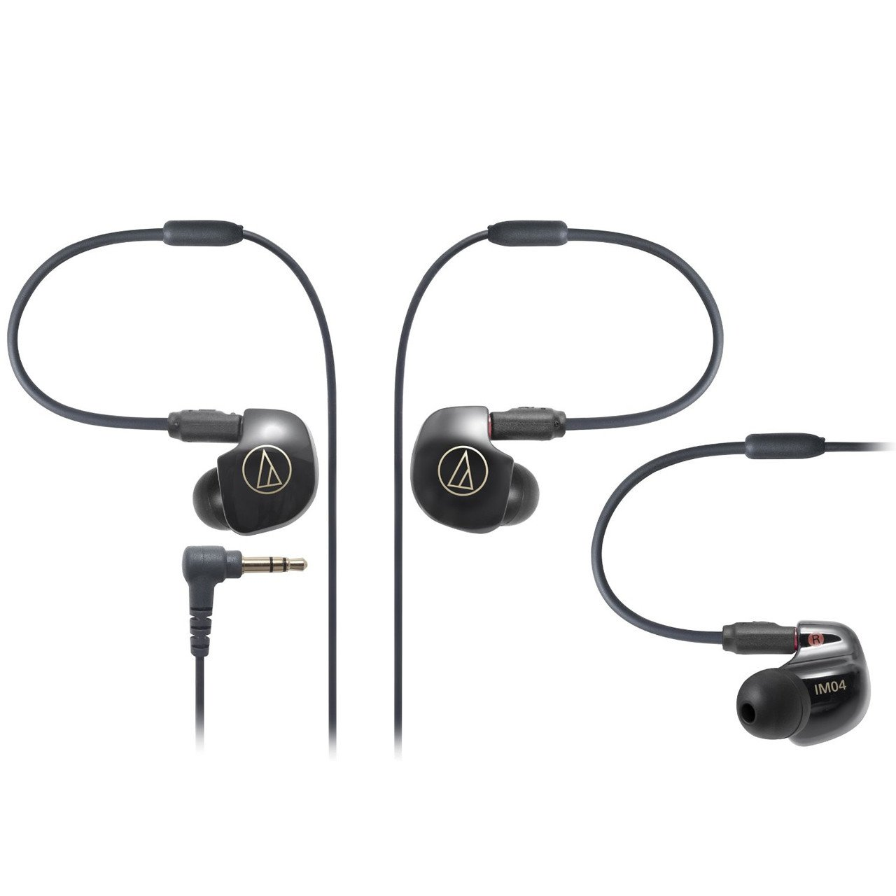 Audio-Technica ATH-IM04 in-ear monitors with quad balanced armature drivers