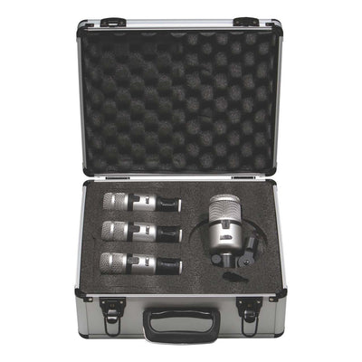 Instrument Microphones - Miktek PMD4 4-Piece Dynamic Drum Mic Kit