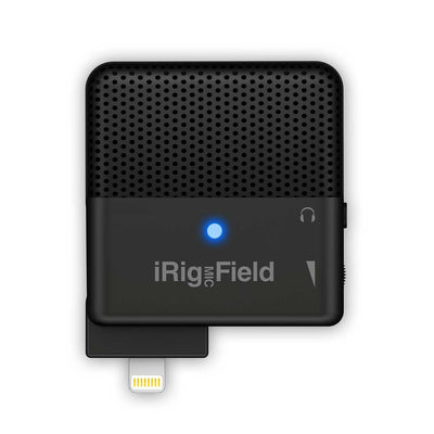 IOS Audio Interfaces - IK Multimedia IRig Mic Field Stereo Microphone