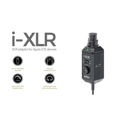IOS Audio Interfaces - RODE IXLR Digital XLR Interface For IOS Devices