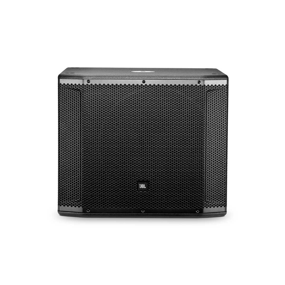 "JBL SRX818SP 18"" Self-Powered Subwoofer System Front"