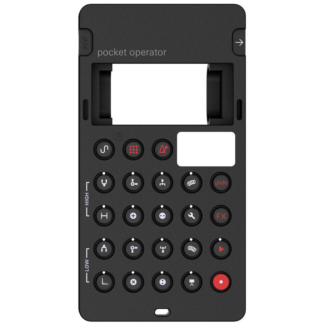 Teenage Engineering CA-28 Silicone Pro-case for PO-28 Pocket Operator