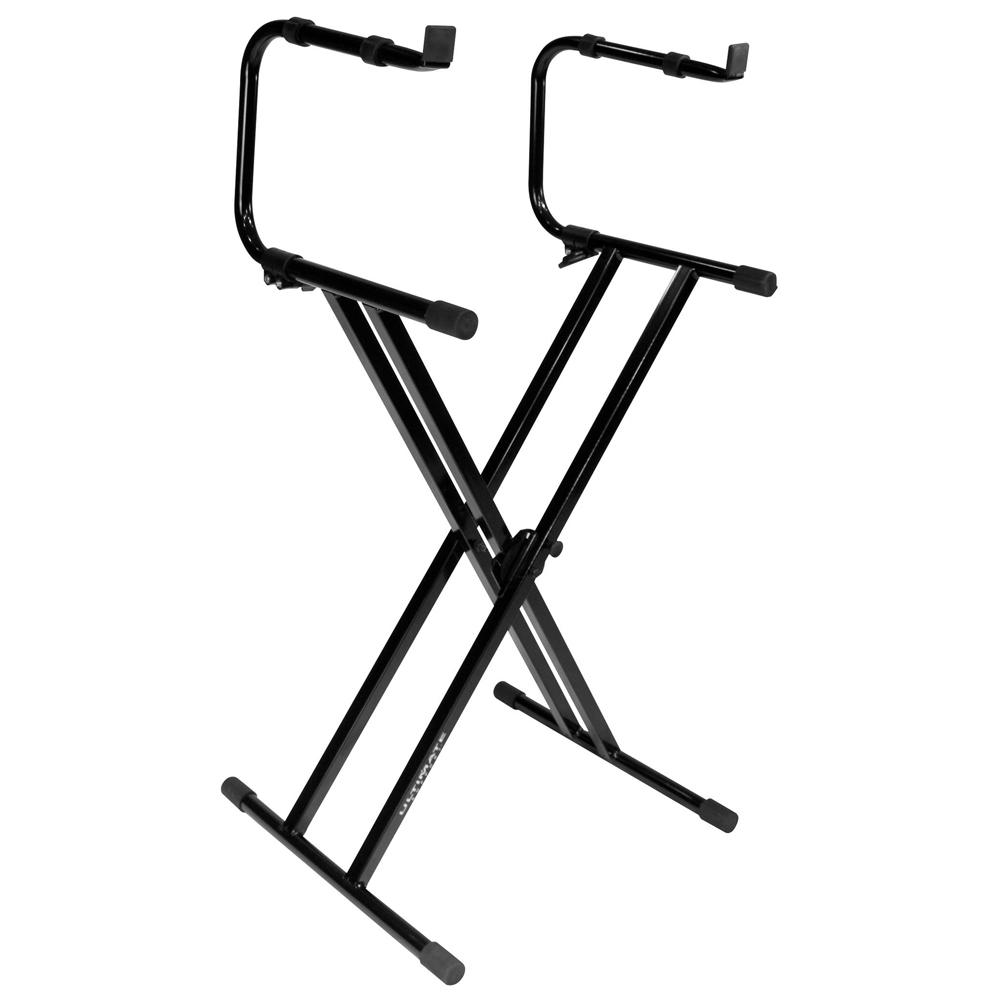 Ultimate Support IQ-2200 Two-tier X-style Keyboard Stand