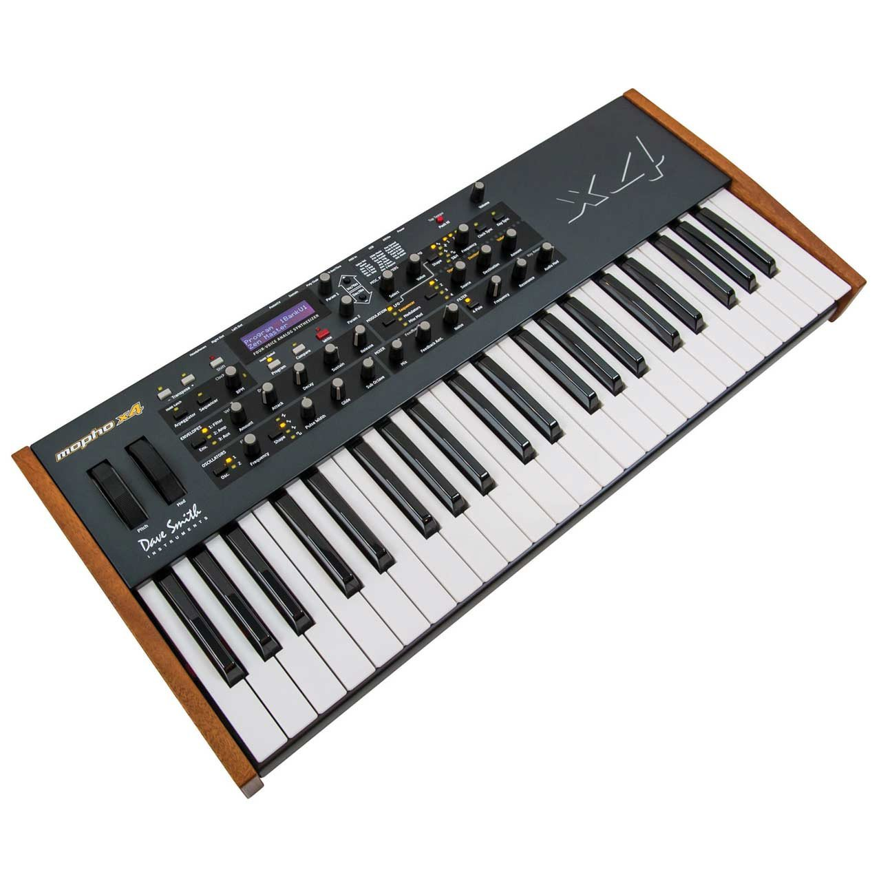 dave smith instruments dsi mopho x4 4 voice analogue synthesizer sounds easy. Black Bedroom Furniture Sets. Home Design Ideas
