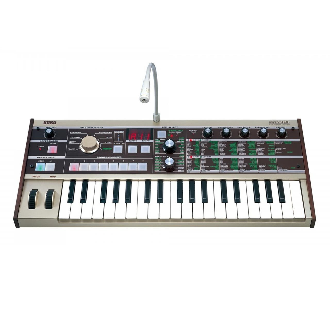 Korg MicroKORG Synthesizer Vocoder Keyboard