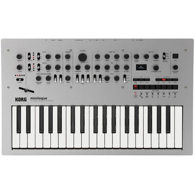 Keyboard Synthesizers - Korg Minilogue Polyphonic Analogue Synthesizer