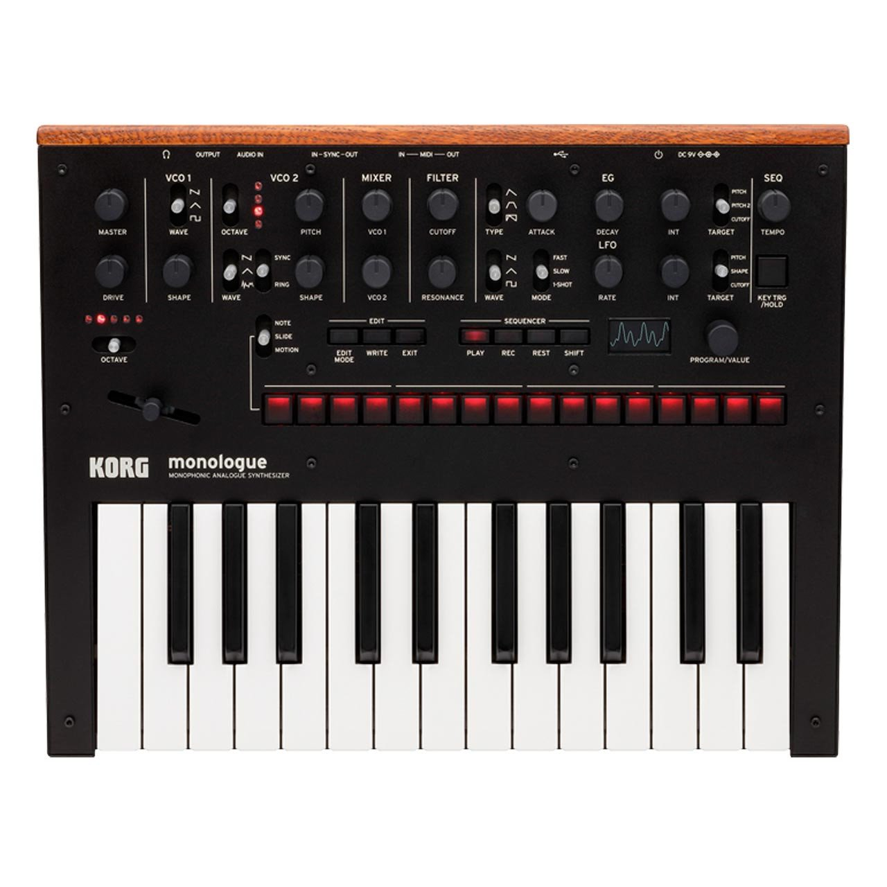 Korg monologue Monophonic Analogue Synthesizer BLACK