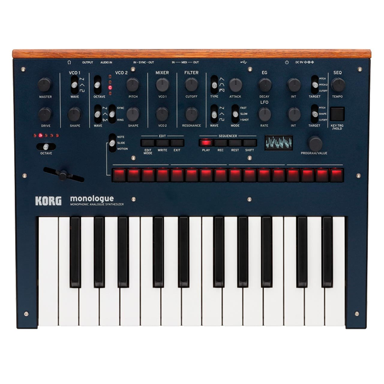 Korg monologue Monophonic Analogue Synthesizer BLUE