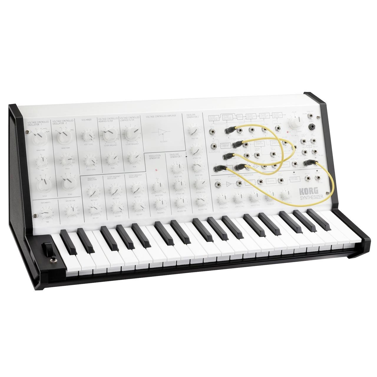 Korg MS-20 MINI Limited Edition White Monotone
