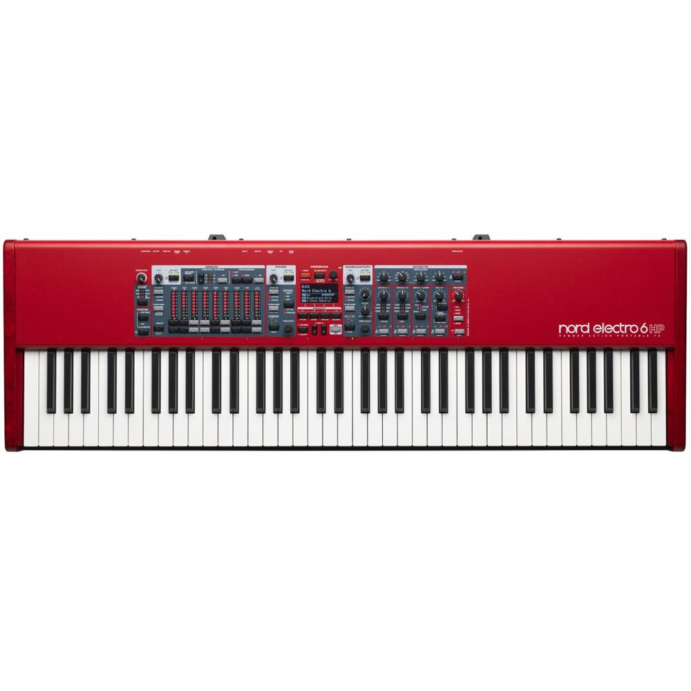 Keyboard Synthesizers - Nord Electro 6 HP 73-note Hammer Action Portable Keybed