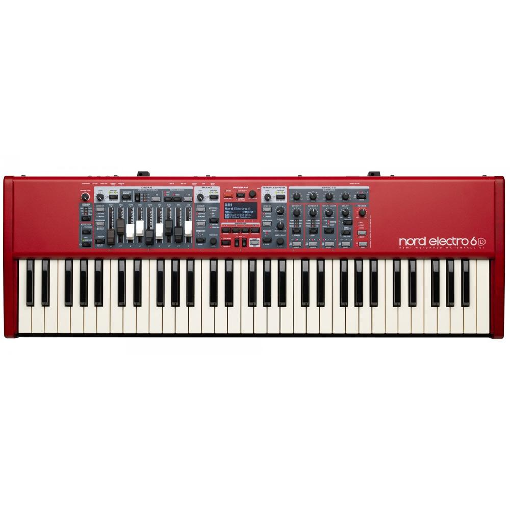Keyboard Synthesizers - Nord Electro 6D 61-note Semi-Weighted Waterfall Keybed