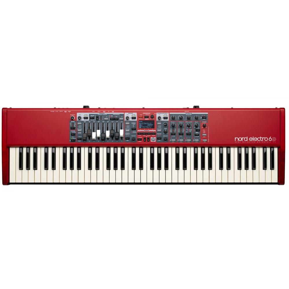 Keyboard Synthesizers - Nord Electro 6D 73-note Semi-Weighted Waterfall Keybed