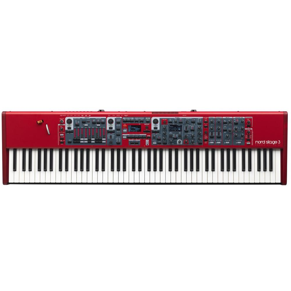 Keyboard Synthesizers - Nord Stage 3 88 Fully Weighted Hammer Action Keyboard