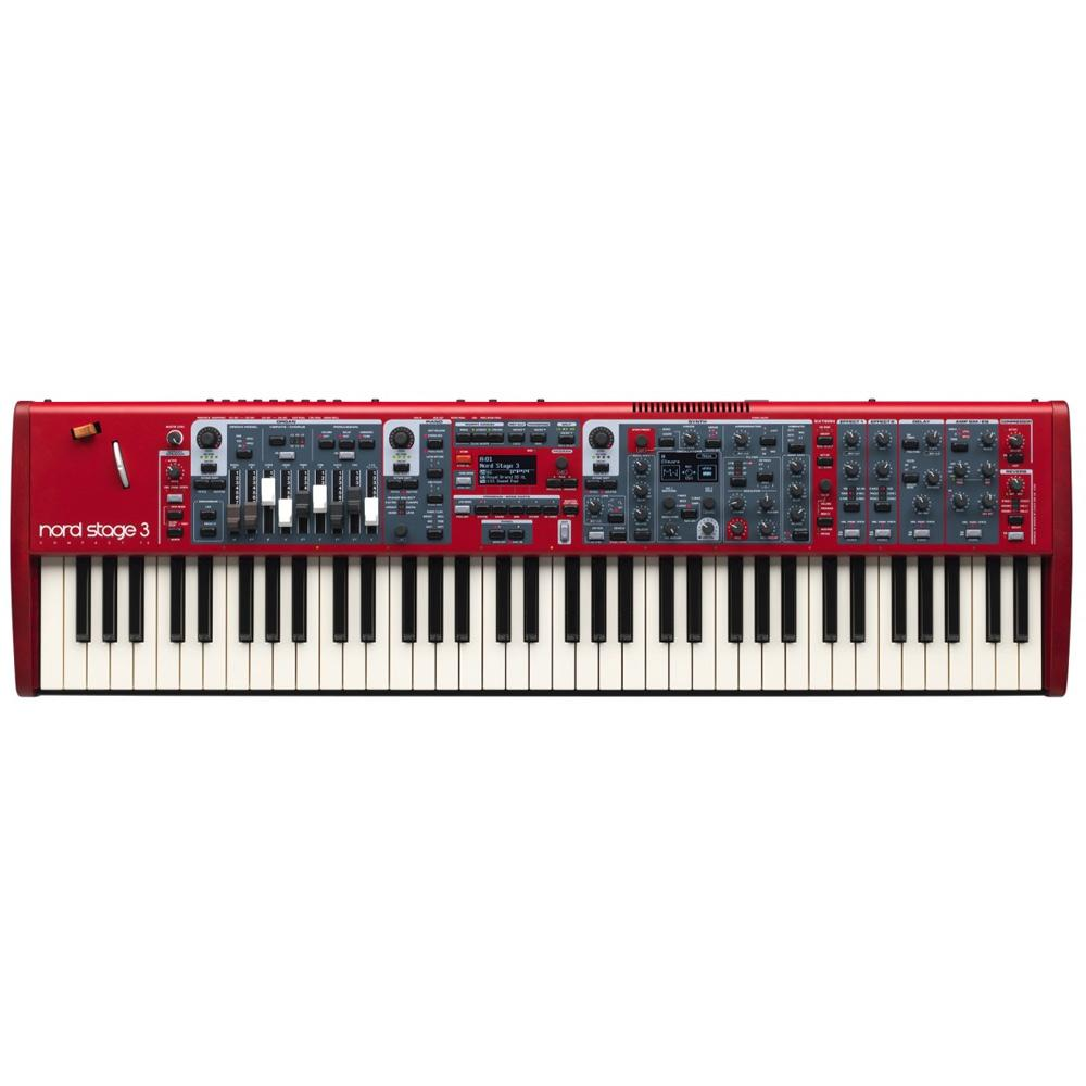 Keyboard Synthesizers - Nord Stage 3 Compact 73-note Semi Weighted Waterfall Keybed