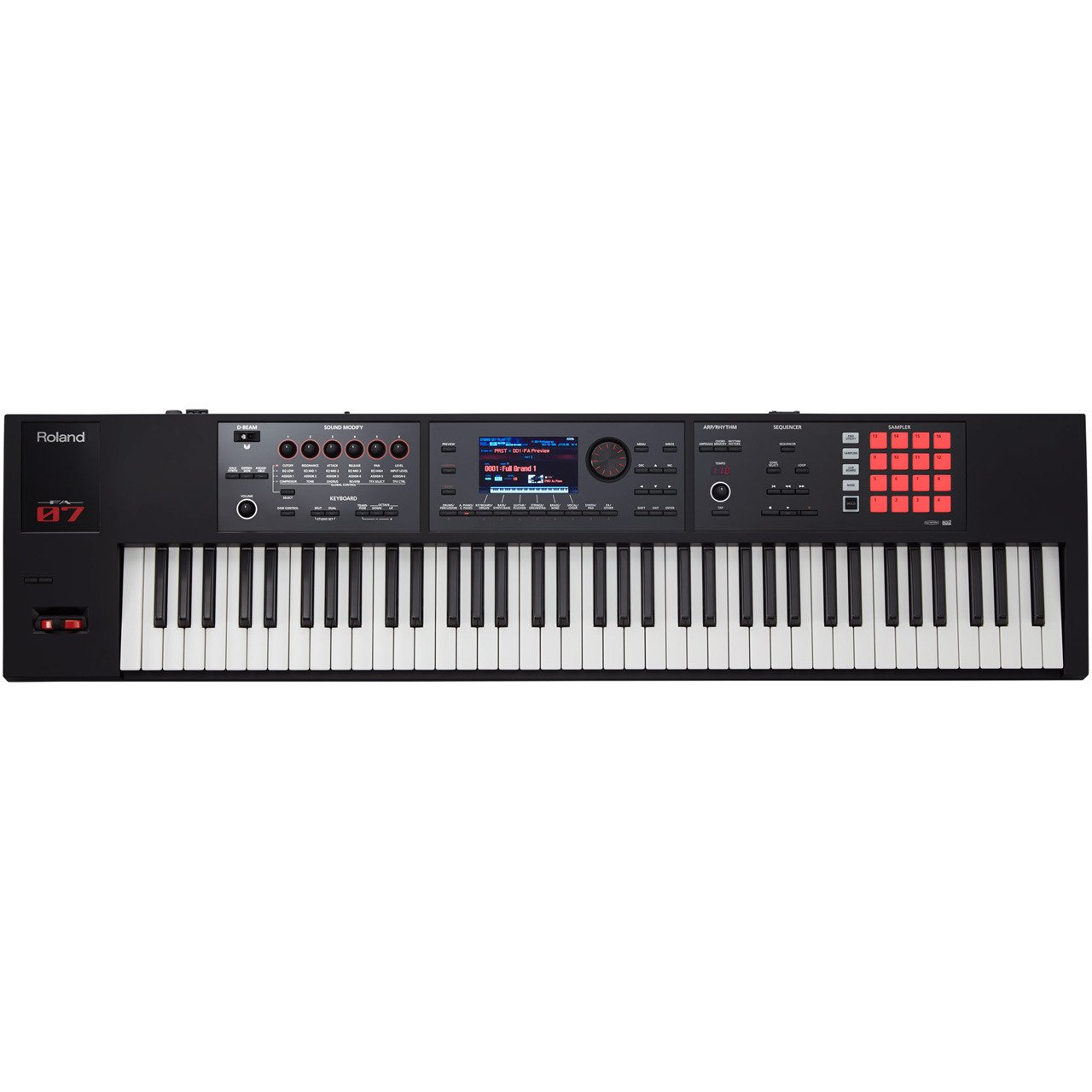 Roland FA-07 Music Workstation Keyboard