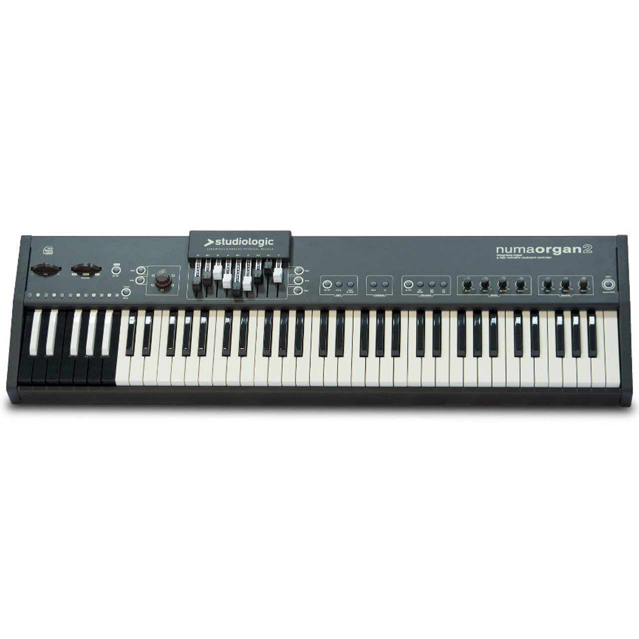 Keyboard Synthesizers - Studiologic Numa Organ 2 Physical Model Tone Wheel Organ Keyboard
