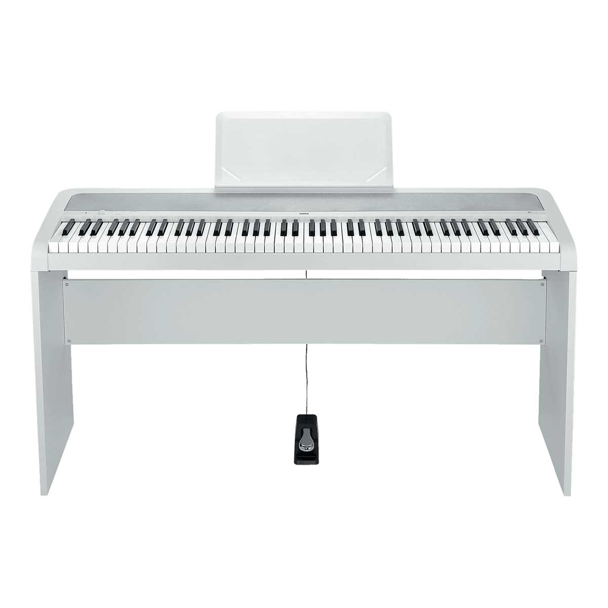 Korg B1 Digital Piano White with Stand