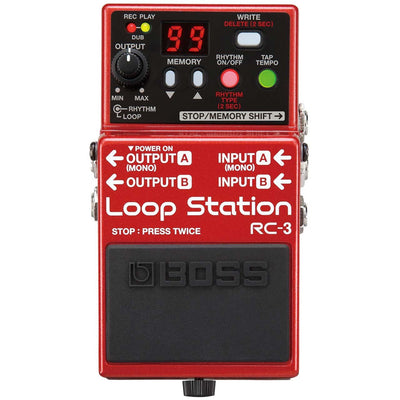 Loopers - BOSS RC-3 Loop Station Pedal