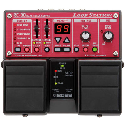 Loopers - BOSS RC-30 Loop Station Pedal