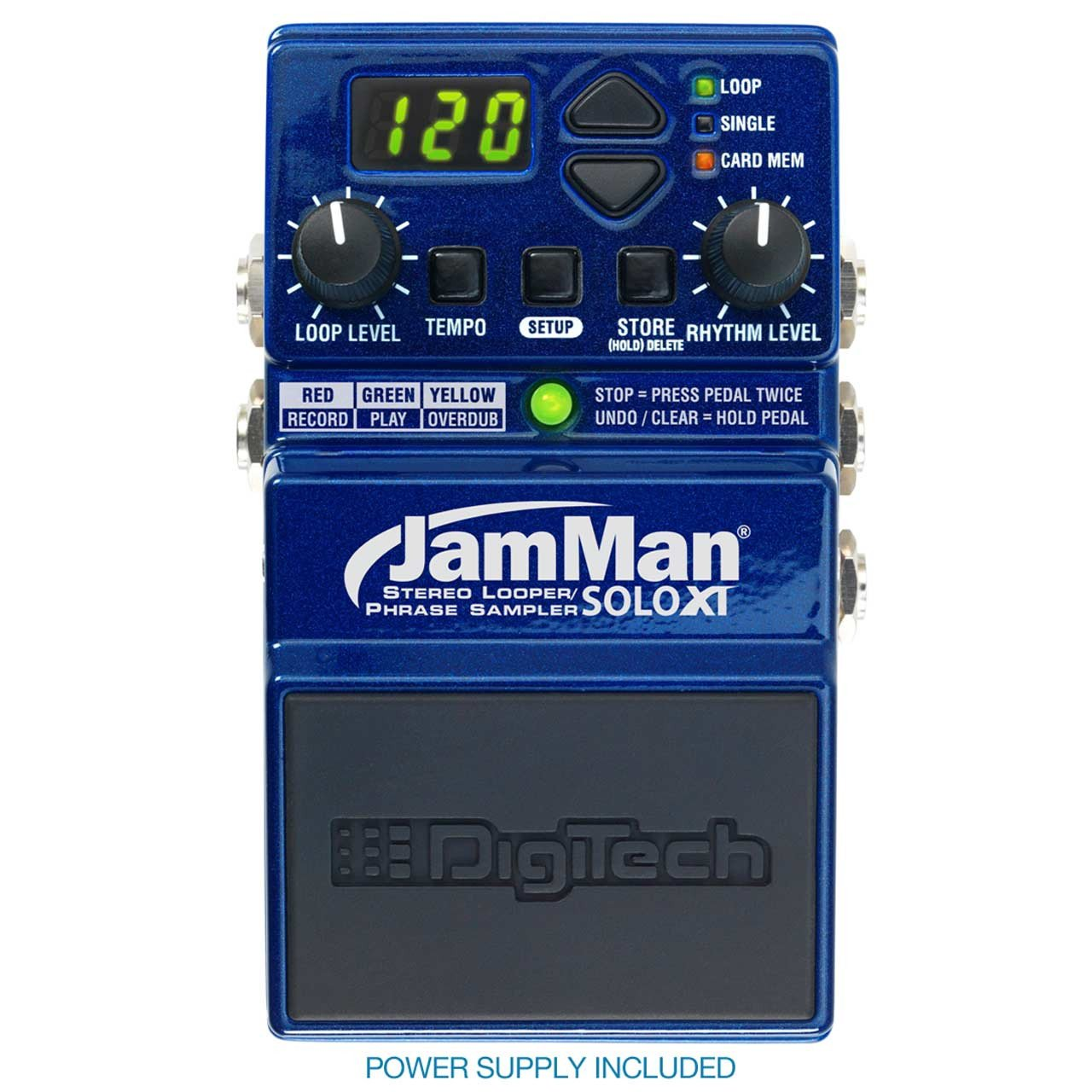 Loopers - Digitech JamMan Solo XT Looper Guitar Pedal