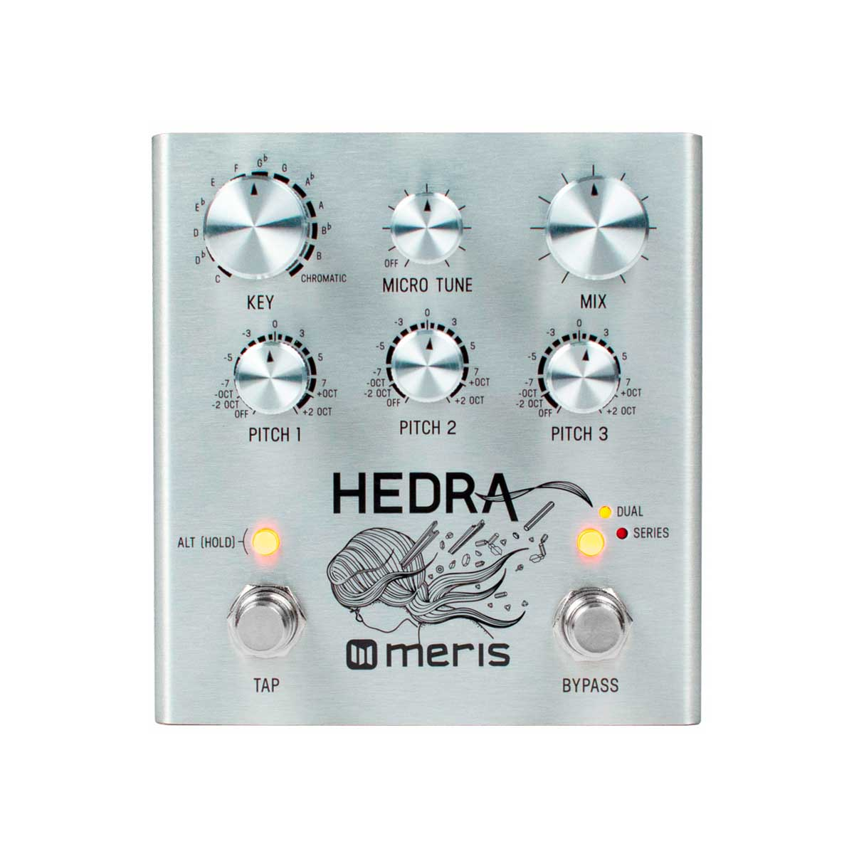 Meris Hedra 3-Voice Rhythmic Pitch Shifter Pedal (Pre-Order Only)