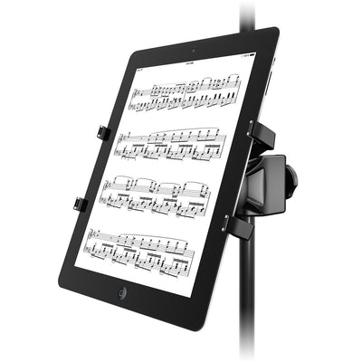 Microphone Accessories - IK Multimedia IKlip Xpand - Universal Mic Stand Support For Tablets