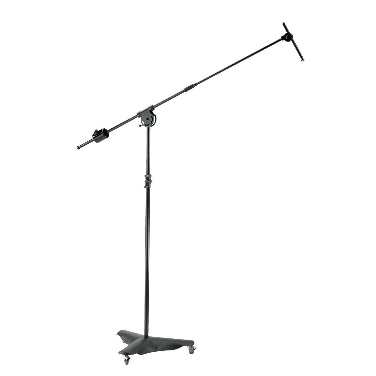Microphone Accessories - Konig & Meyer 21430 Overhead Microphone Stand Black