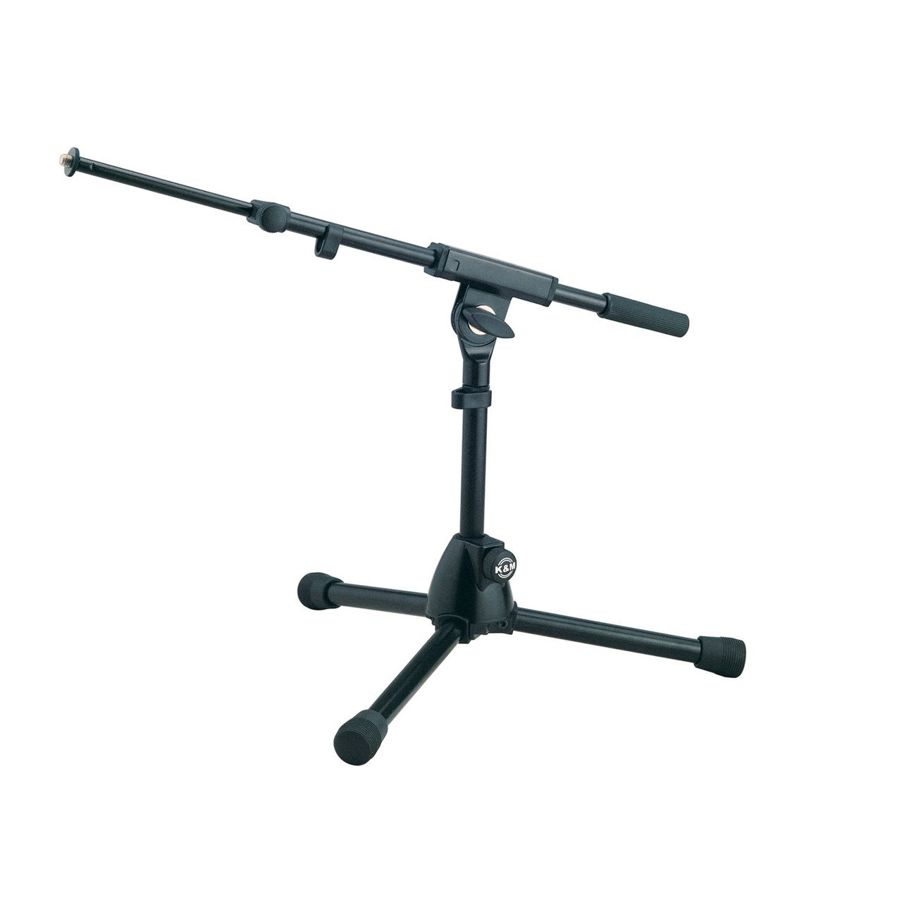 Microphone Accessories - Konig & Meyer 25950 Heavy Duty Short Microphone Stand With Telescopic Boom