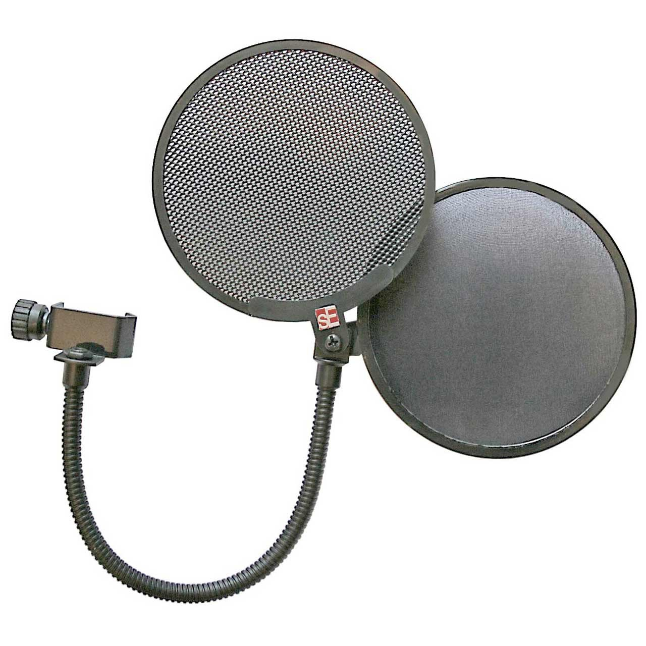 sE Electronics Dual Pro Pop Screen - Microphone Pop Filter Shield