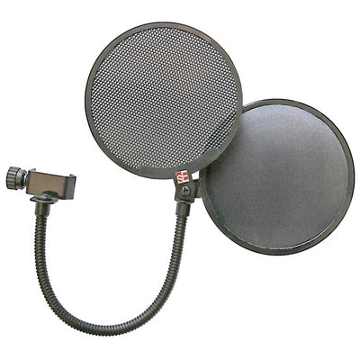 Microphone Accessories - SE Electronics Dual Pro Pop Screen - Microphone Pop Filter Shield