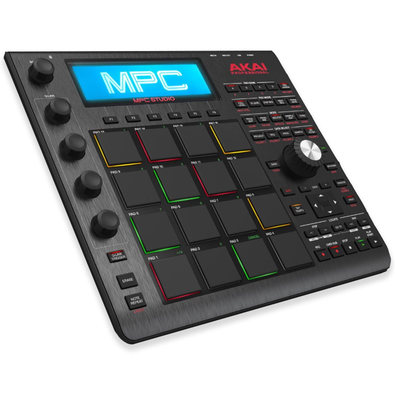 MIDI Controllers - Akai MPC Studio Music Production Controller - BLACK