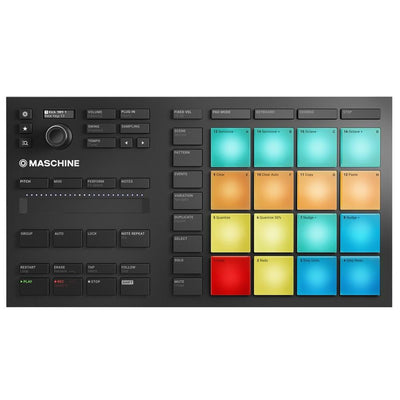 MIDI Controllers - Native Instruments Maschine Mikro MK3 Production System