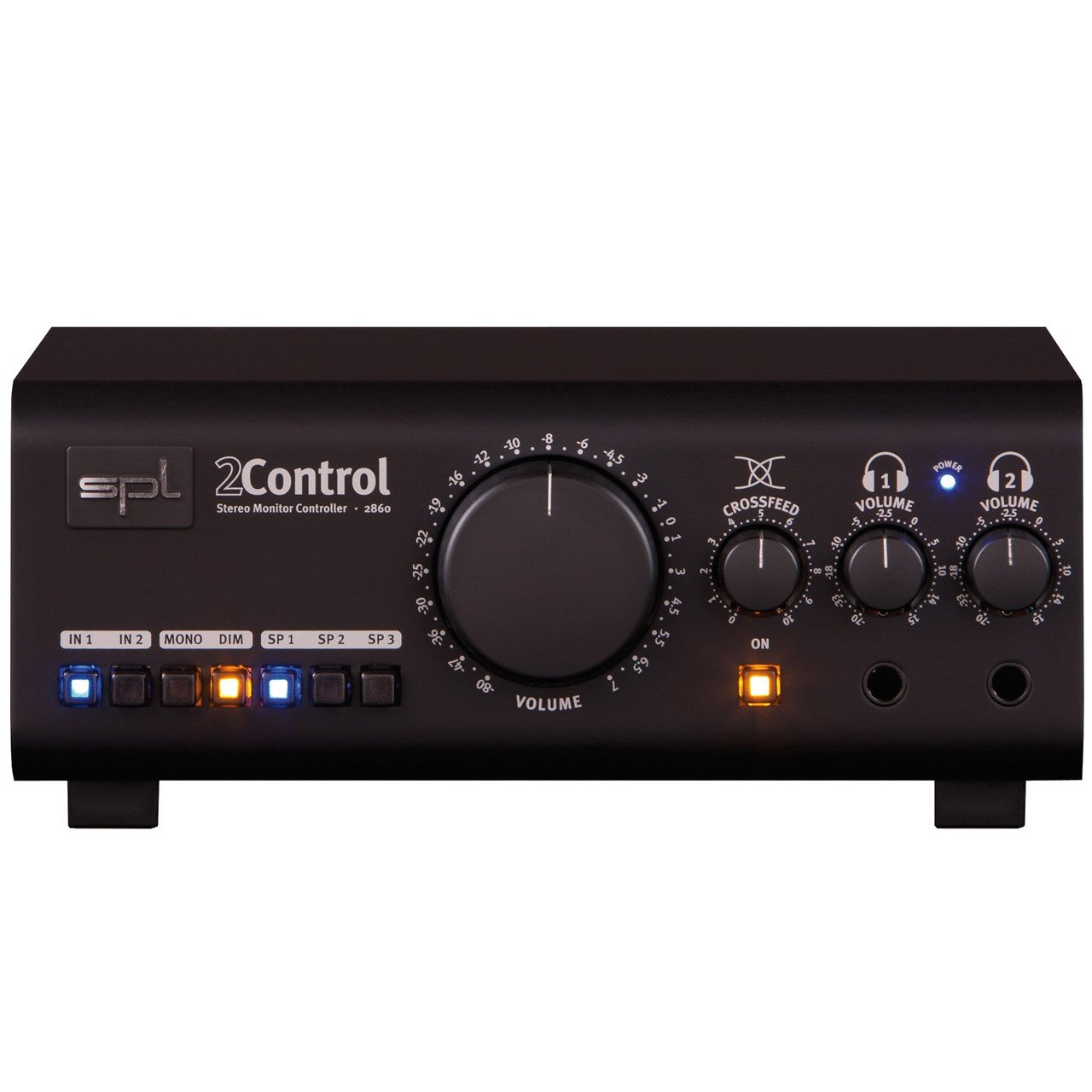 Monitor Controllers - SPL 2Control Dual High Quality Headphone Amp Controller
