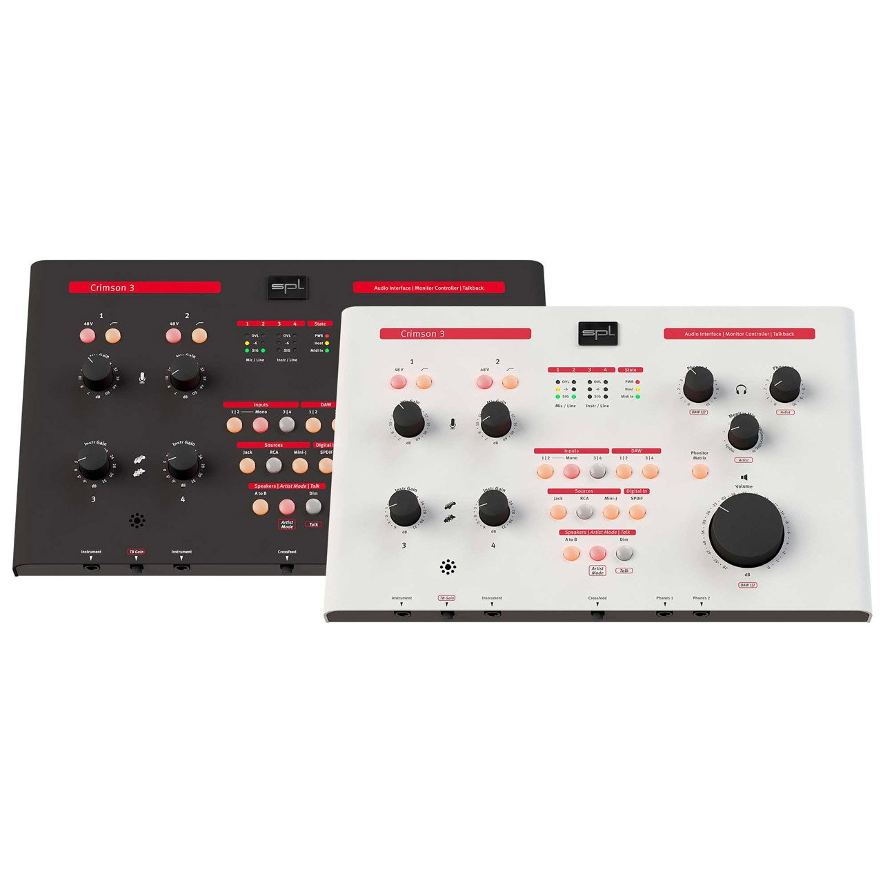 Monitor Controllers - SPL Crimson 3.0 Audio Interface With Analog Monitoring