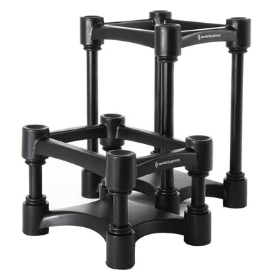 Monitor Isolation - IsoACOUSTICS ISO-L8R155 Speaker Stands PAIR