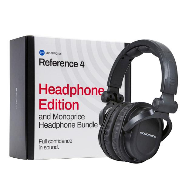 Sonarworks Headphone Edition/Monoprice Headphone Bundle