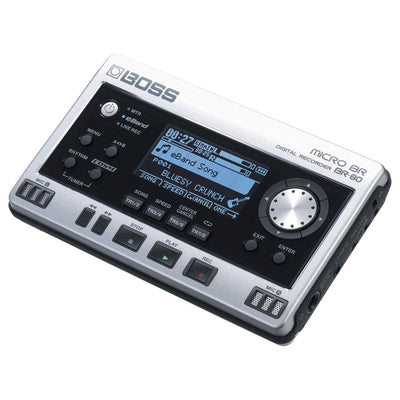 Multitrack Recorders - BOSS MICRO BR BR-80 Digital Recorder