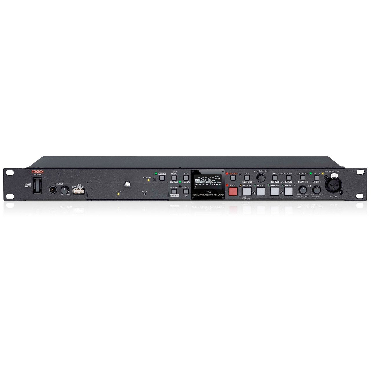 Multitrack Recorders - Fostex UR-2 Stereo Rack Recorder