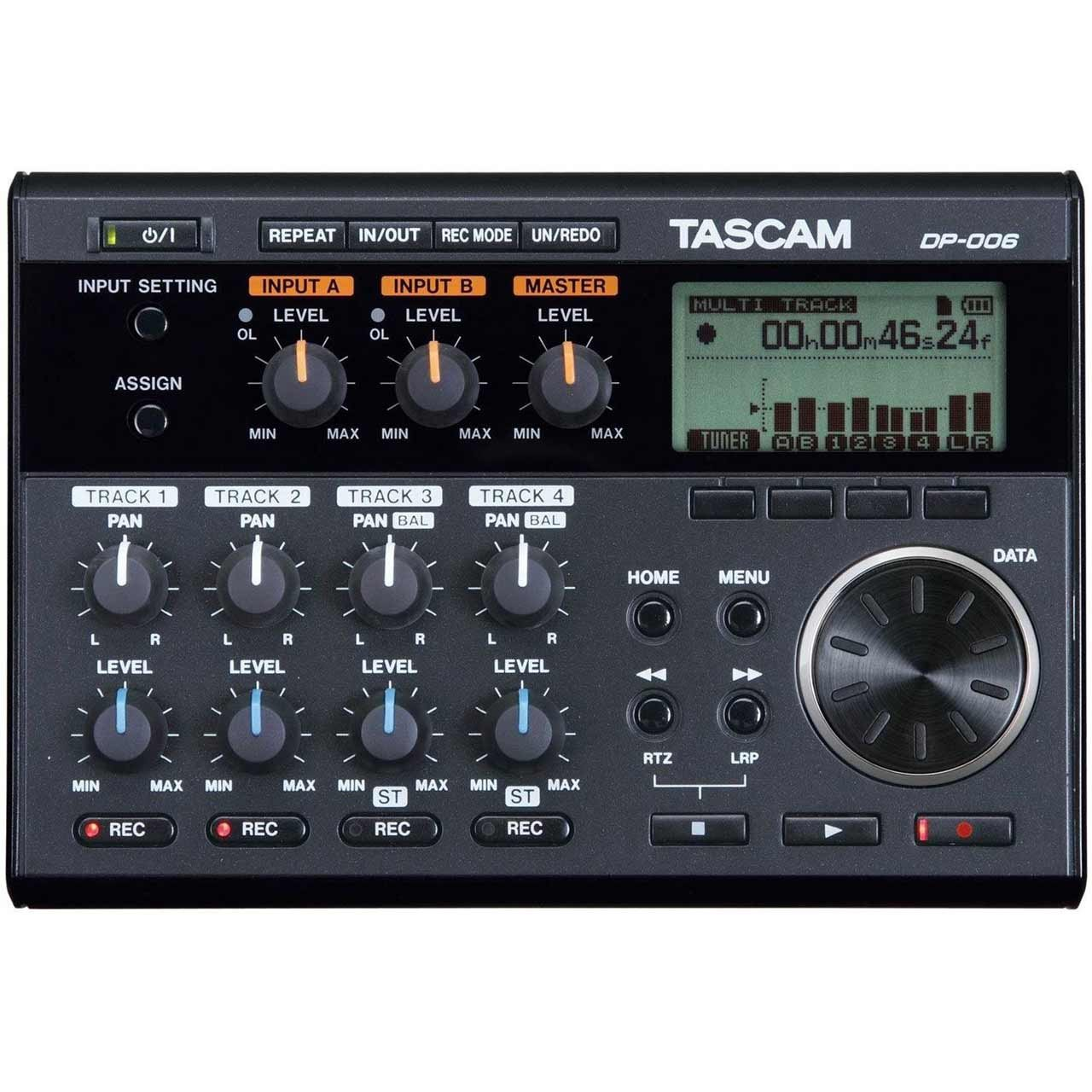 Tascam DP-006 6 Track digital Recorder