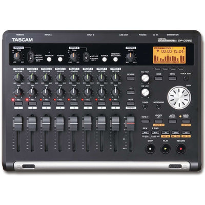 Multitrack Recorders - Tascam DP-03SD 8 Track Digital Multitrack Recorder