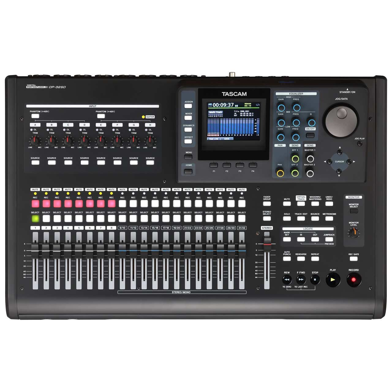 Multitrack Recorders - TASCAM DP-32SD 32-Track Digital Portastudio