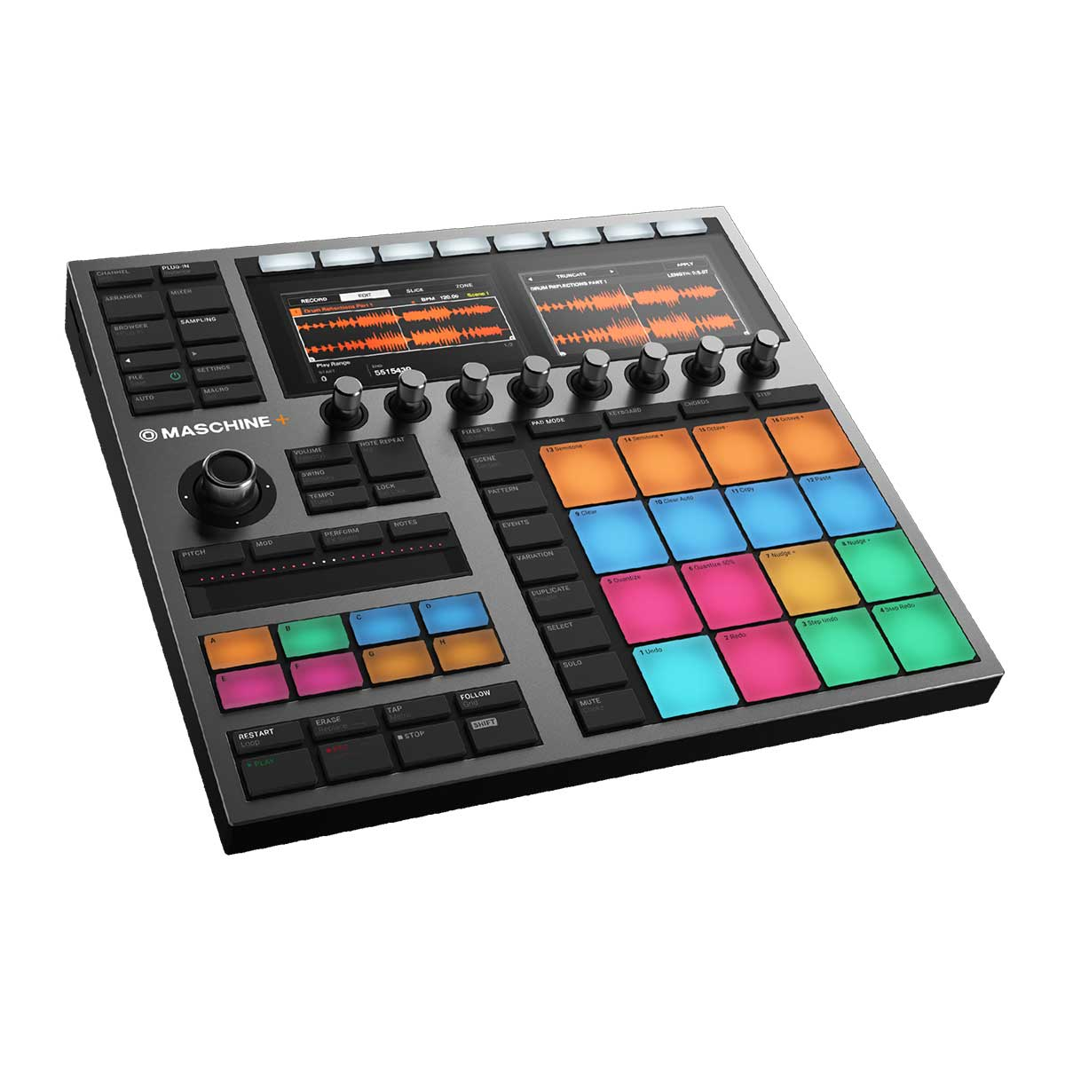 Native Instruments Machine+ stand-alone sampling, sequencing and beat making machine