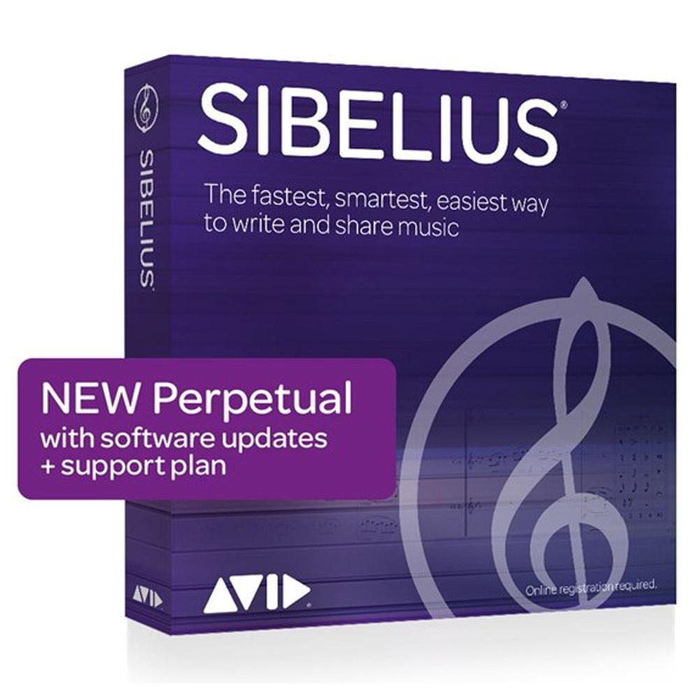 Notation Software - Avid Sibelius Perpetual License