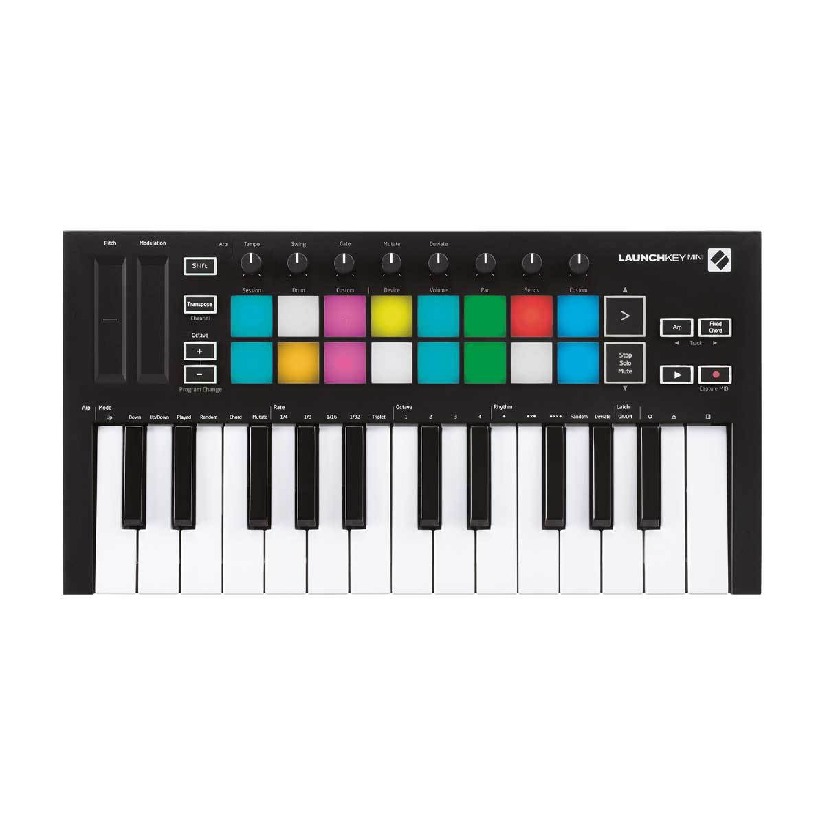 Novation LaunchKey Mini Mk3 25-Note Controller Keyboard