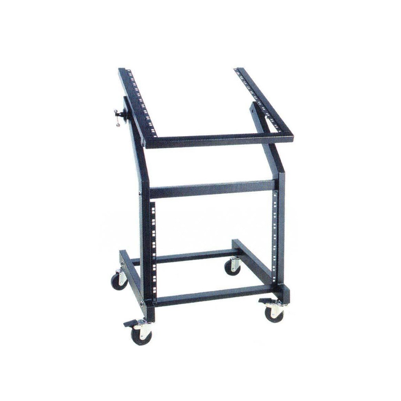 Outboard Accessories - UXL Mixer Rack 12RU DLX Rackmount Stand W/Casters