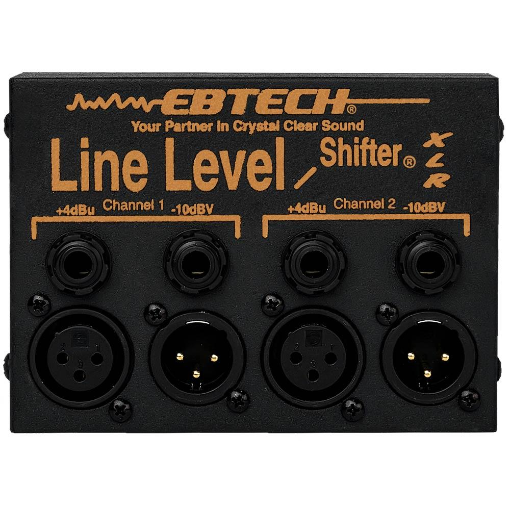 PA Accessories - EBTECH LINE LEVEL SHIFTER LLS-2-XLR (2 Ch Box With XLR)