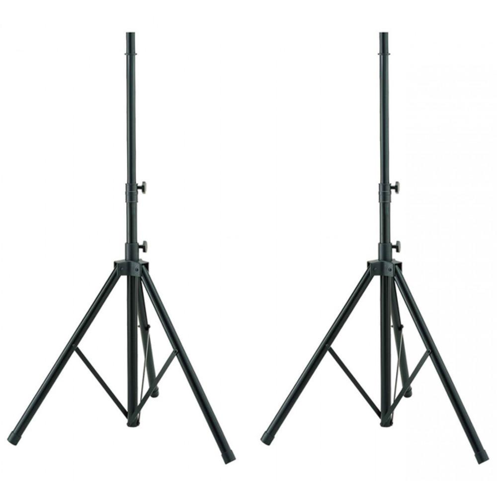 PA Accessories - HAMILTON HA-KB700S-2: ALUMINUM SPEAKER STANDS (PAIR)