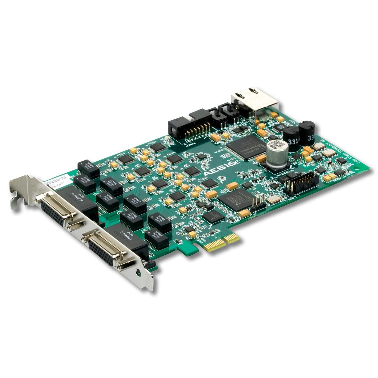 PCI/PCIe Audio Interfaces - Lynx AES16e - PCIe Audio Interface / Expansion Card